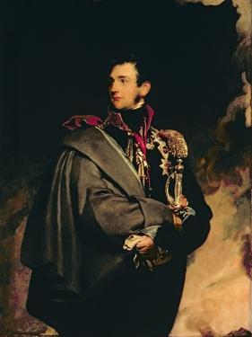 Portrait of Mikhail Semyonovich, Count Vorontsov by Thomas Lawrence