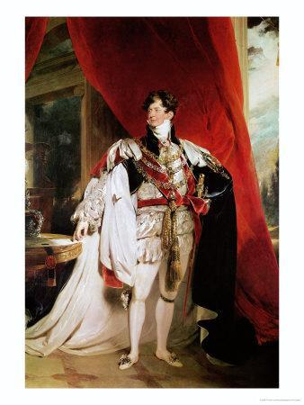 The Prince Regent, Later George IV in His Garter Robes, 1816