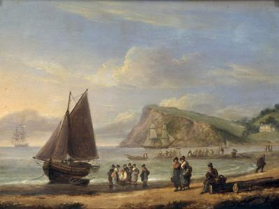 A View of Ness Point - Teignmouth, Devon, 1826
