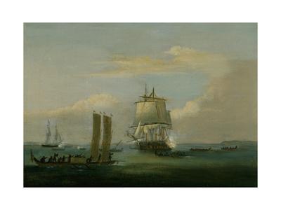 Captain Bligh in Torres Strait Ii 1792