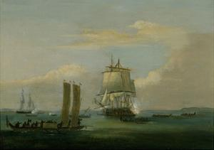 Captain Bligh in Torres Strait Ii 1792 by Thomas Luny