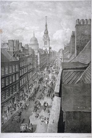 Cheapside, London, 1823