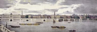 Proposed View of the River Thames, London, 1825