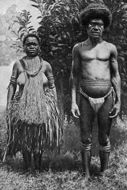 Grief for the Dead Shown by Hempen Halters, New Guinea, 1922 by Thomas McMahon