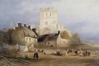 Jedburgh Abbey, C.1835