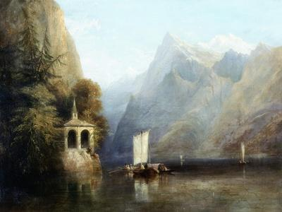 Lake Lucerne with William Tell's Chapel, 1844