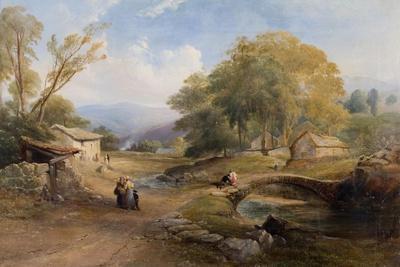 Landscape, Bridge and Figures