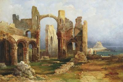 Lindisfarne Priory, C.1837