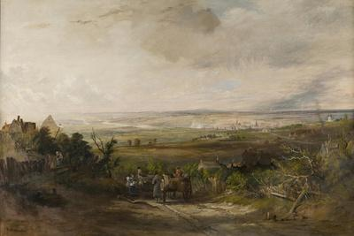 Newcastle from Gateshead Fell, C.1816