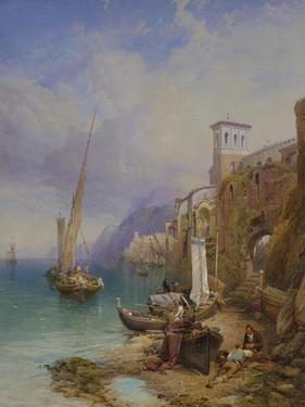 Ragusa on the Adriatic by Thomas Miles Richardson