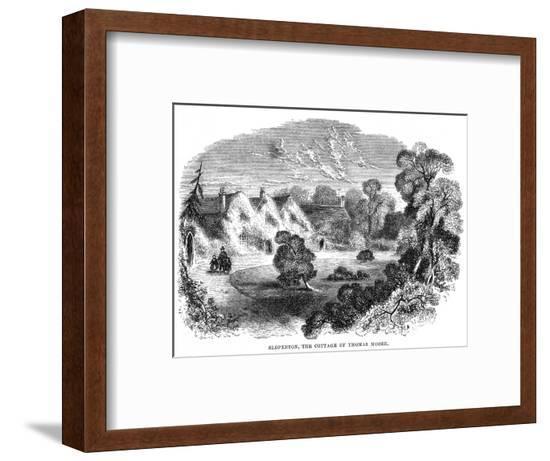 Thomas Moore Home--Framed Giclee Print