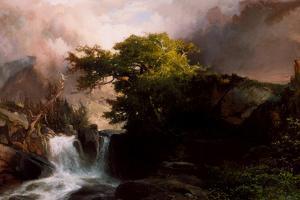 A Mountain Stream, 1869 by Thomas Moran
