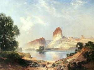 An Indian Paradise by Thomas Moran