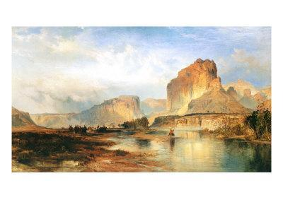 Cliffs of the Green River