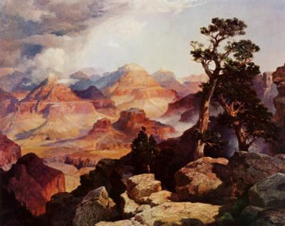 Clouds in the Canyon by Thomas Moran