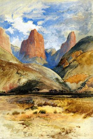 Colburn's Butte, South Utah, 1873