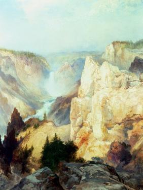 Grand Canyon of the Yellowstone Park by Thomas Moran