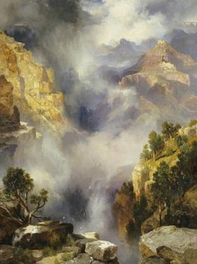 Mist in the Canyon, 1914 by Thomas Moran