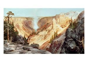 The Grand Canyon of the Yellowstone, 1872 by Thomas Moran