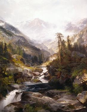 The Mountain of the Holy Cross by Thomas Moran