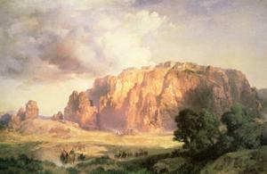 The Pueblo of Acoma, New Mexico by Thomas Moran
