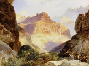 Under the Red Wall, Grand Canyon of Arizona, 1917 by Thomas Moran