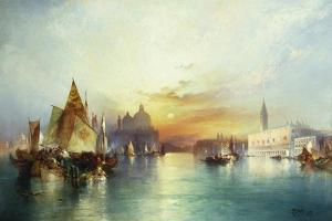 Venice, 1897 by Thomas Moran