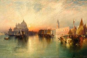 View of Venice, 1895 by Thomas Moran