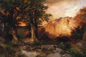 Western Sunset, 1897 by Thomas Moran