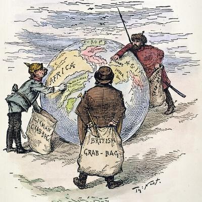 Cartoon: Imperialism, 1885