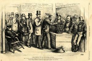 Going Through the Form of Universal Suffrage, 1871 by Thomas Nast