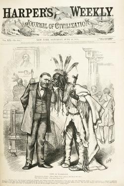 News in Washington, 1875 by Thomas Nast