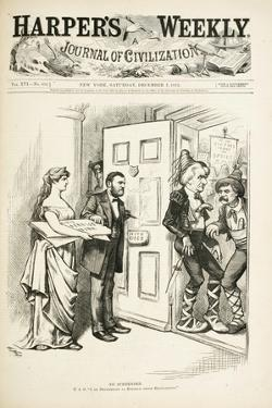 No Surrender; U.S.G., I Am Determined to Enforce Those Regulations, 1872 by Thomas Nast