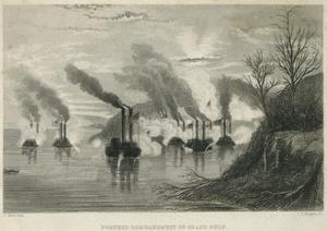 Porter's Bombardment of Grand Gulf, C.1863 by Thomas Nast