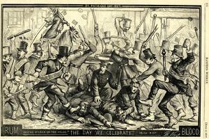 St. Patrick's Day, 1867 by Thomas Nast
