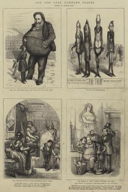 The New York Tammany Frauds by Thomas Nast