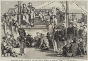 The Revolution in Sicily, Volunteers on Board the Washington Proceeding to Palermo by Thomas Nast