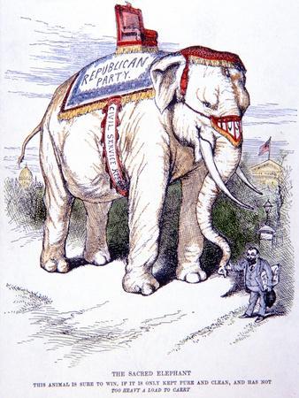 'The Sacred Elephant', 1884