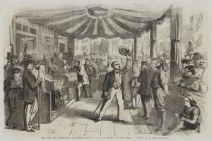 The Vote for Annexation at Naples, Polling Booth at Monte Calvario by Thomas Nast