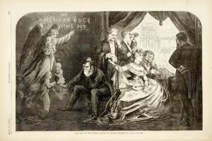 The Wife of the Period - Suffer No Little Children to Come Unto Me, 1869 by Thomas Nast