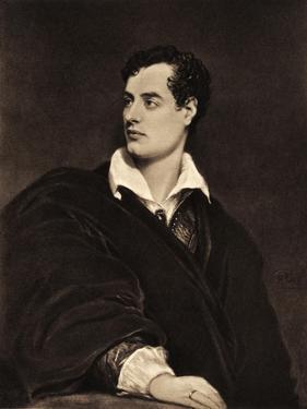 Lord Byron portrait British by Thomas Phillips