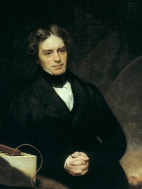 Michael Faraday, English Chemist and Physicist, 1842 by Thomas Phillips