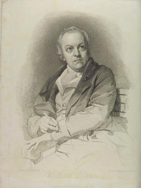 Portrait of William Blake, Frontispiece from 'The Grave, a Poem' by William Blake (1757-1827) by Thomas Phillips