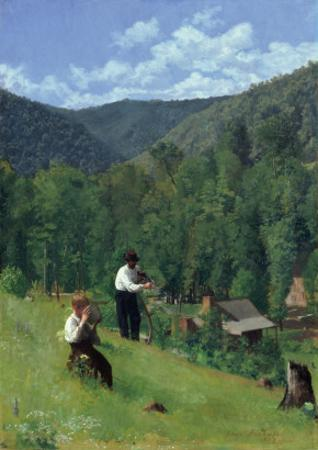 The Farmer and His Son at Harvesting, 1879