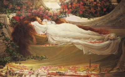 The Sleeping Beauty by Thomas Ralph Spence