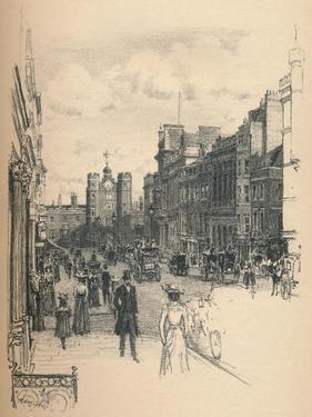 The Gateway of St. Jamess Palace from St. Jamess Street, 1902 by Thomas Robert Way