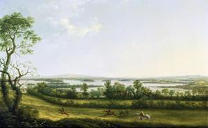 Lough Erne from Knock Ninney, with Bellisle in the Distance, County Fermanagh, Ireland, 1771 by Thomas Roberts