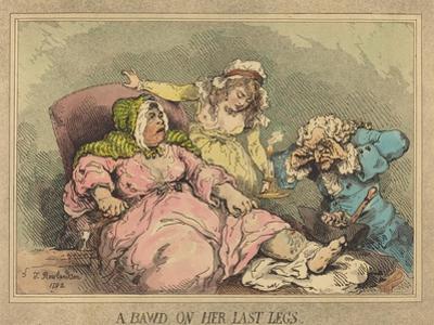 A Bawd on Her Last Legs, 1792 by Thomas Rowlandson