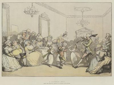 A Juvenile Ball by Thomas Rowlandson
