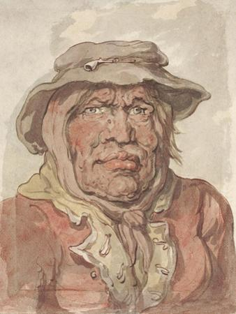A Soldier's Widow, 1815-20 by Thomas Rowlandson